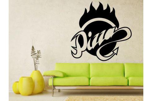 Samolepka na zeď Nápis Pizza 0140 Pizza