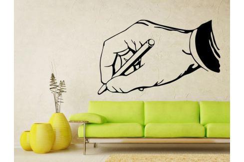 Samolepka na zeď Píšící ruka 0241 Do pracovny