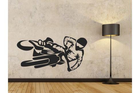 Samolepka na zeď Motorka 1012 Motorka