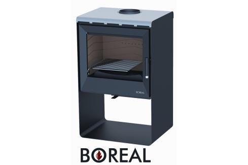 BOREAL Krbová kamna Boreal E2000S světlá šedá Krbová kamna bez výměníku