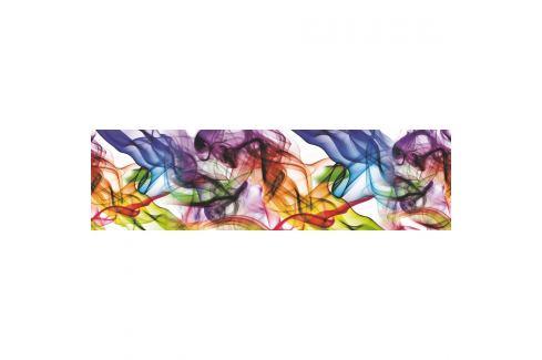 AG Art Samolepicí bordura Barevný kouř, 500 x 14 cm  Tapety