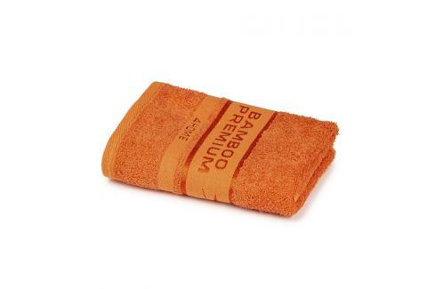 4Home Ručník Bamboo Premium oranžová, 50 x 100 cm Ručníky