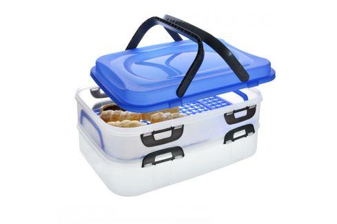 Orion Přenosný box na potraviny 2 patra Mísy a misky