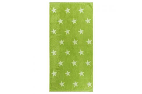 JAHU Osuška Stars zelená, 70 x 140 cm Ručníky