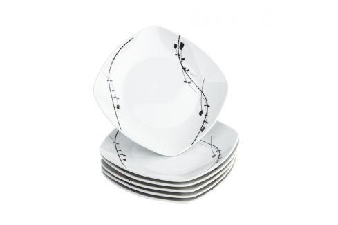 Domestic 6dílná sada dezertních talířů Londra, 19 cm Talíře