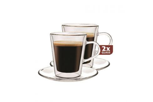Maxxo Doppio 2dílná sada termo sklenic, 100 ml Hrnky a šálky