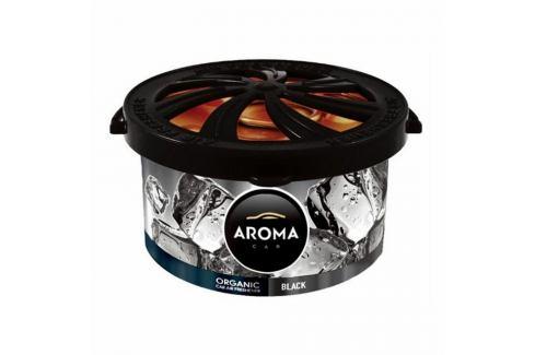Osvěžovač Aroma Car Organic black, 40 g Autokosmetika