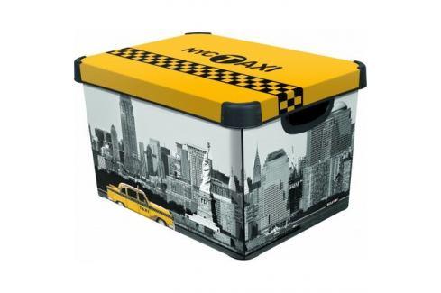Úložný box dekorativní L NEW YORK, Curver Úložné boxy