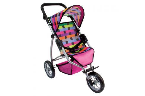 BINO 82912 Dětský kočárek tříkolový Hry na zahradu