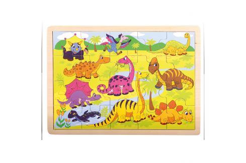 Bino dřevěné Dinosauři Dřevěné hračky