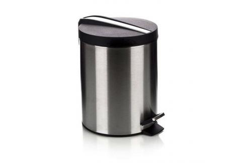BANQUET Soliste New Nerezový nášlapný koš 5 l, 5 l Odpadkové koše