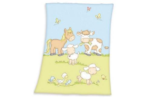 Herding Dětská deka Fynn Farma, 75 x 100 cm Dětské deky
