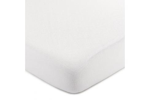 4Home jersey prostěradlo bílá, 90 x 200 cm Prostěradla