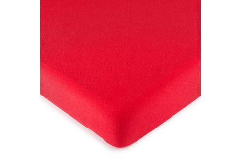 4Home jersey prostěradlo červená, 160 x 200 cm Prostěradla