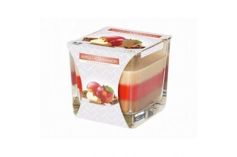 Svíčka ve skle Duha Jablko a skořice, 170 g Dekorativní svíčky