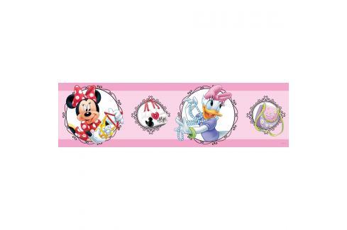 AG Art Samolepicí bordura Mickey Mouse, 500 x 14 cm Tapety