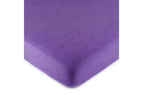 4Home jersey prostěradlo fialová, 180 x 200 cm Prostěradla