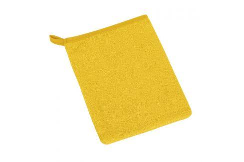Bellatex Froté žínka Žlutá Ručníky