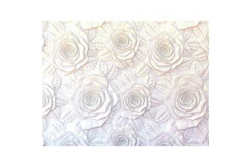 AG Art Fototapeta XXL 3D Roses 360 x 270 cm, 4 díly   Tapety