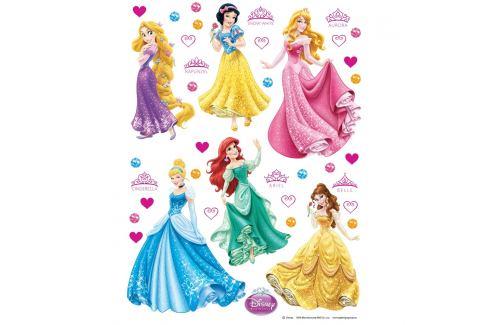 AG Art Samolepicí dekorace Princezny, 30 x 30 cm Samolepky na zeď