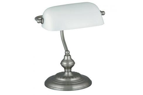 Rabalux 4037 Bank stolní lampa, bílá Lampy