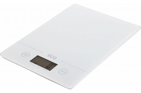 ECG KV 117 Slim Kuchyňská váha, bílá Kuchyňské váhy