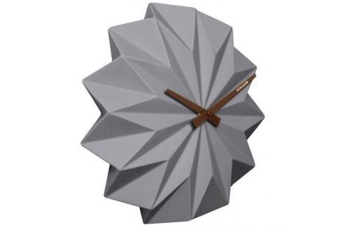 Karlsson KA5531GY Designové nástěnné hodiny, 27 cm Hodiny