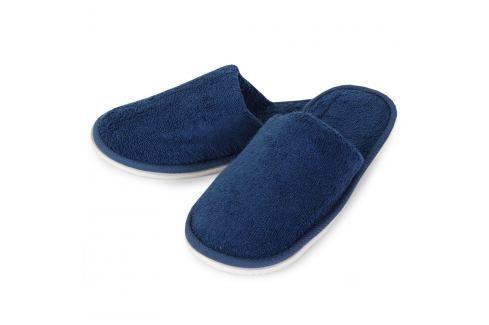 Domácí pantofle Charles modré 26 cm modrá Doplňky