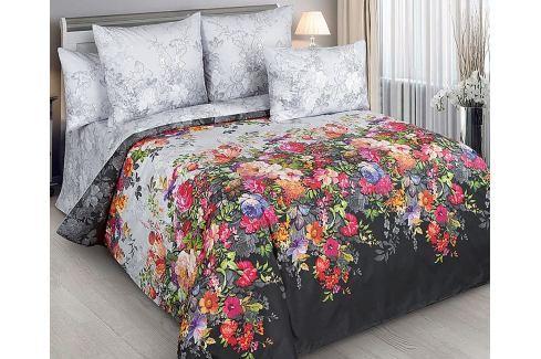 Povlečení Margo 140x200 jednolůžko - standard bavlna Květinové vzory