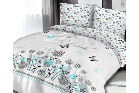 Povlečení Meadow of dreams 140x200 jednolůžko - standard bavlna Květinové vzory