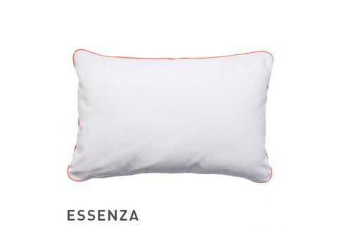Dekorační polštář Essenza Duke bílý 40x60 cm Bílá Polštářky s výplní