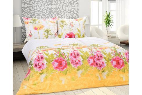 Povlečení Iris 140x200 jednolůžko - standard Bavlna Květinové vzory