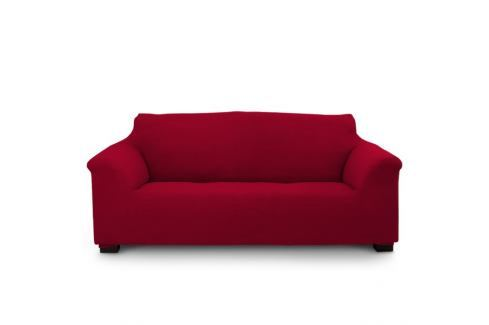 Potah na trojkřeslo Elegant červený 180-240 červená Potahy na sedačky