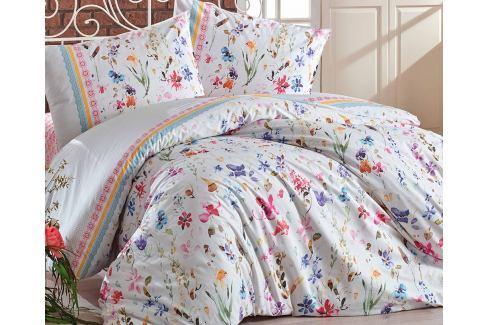 Povlečení Rival 140x200 jednolůžko - standard bavlna Květinové vzory