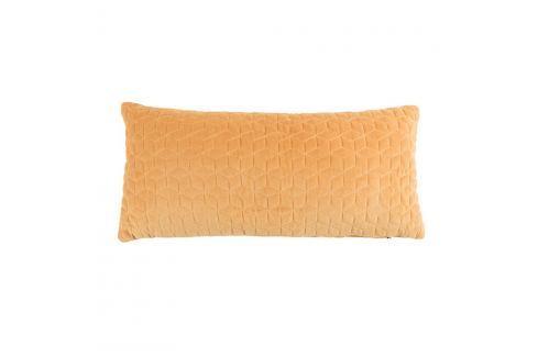 Žlutý polštář White Label Iris, 60x30cm Polštáře apřehozy