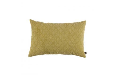 Žlutý bavlněný polštář De Eekhoorn Guides, 40x60cm Polštáře apřehozy