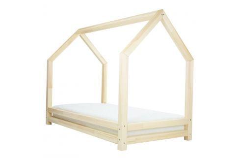 Dětská postel z přírodního smrkového dřeva Benlemi Funny, 120 x 200 cm Jednolůžkové postele