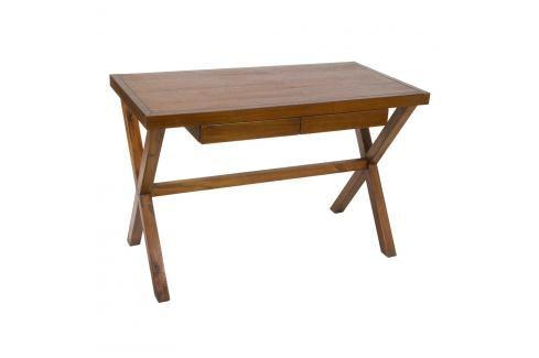 Dřevěný pracovní stůl Santiago Pons Nogal Pracovní stoly