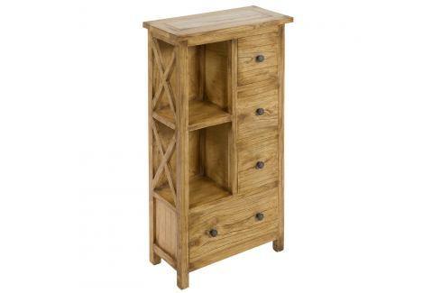 Skříňka ze dřeva mindi Santiago Pons Alama Šatní aúložné skříně