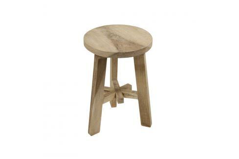 Stolička ze dřeva kaučukovníku Santiago Pons Ole Stoličky