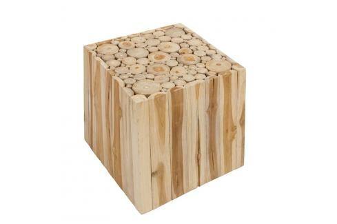 Stolička z teakového dřeva Santiago Pons Mesa Stoličky