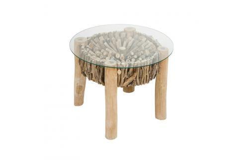 Příruční stolek z dřeva mindi Santiago Pons Deco Jídelní stoly