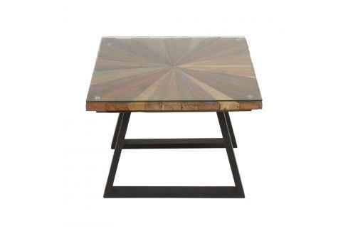 Kávový stolek z dřeva mindi Santiago Pons Sun Konferenční apříruční stolky