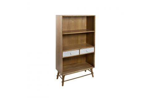 Knihovna z borovicového dřeva Santiago Pons London Industrial Knihovny