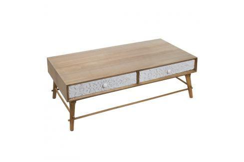 Konferenční stolek z borovicového dřeva Santiago Pons Blossom Konferenční apříruční stolky