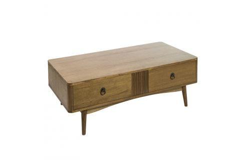 Konferenční stolek z teakového dřeva Santiago Pons Feng Konferenční apříruční stolky