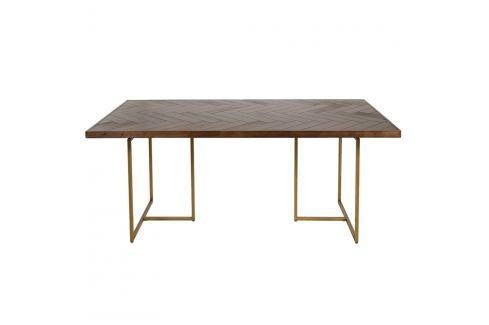 Jídelní stůl z akáciové dýhy Santiago Pons Bruno Jídelní stoly
