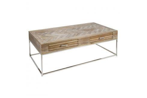 Kávový stolek z teakového dřeva Santiago Pons Parma Konferenční apříruční stolky