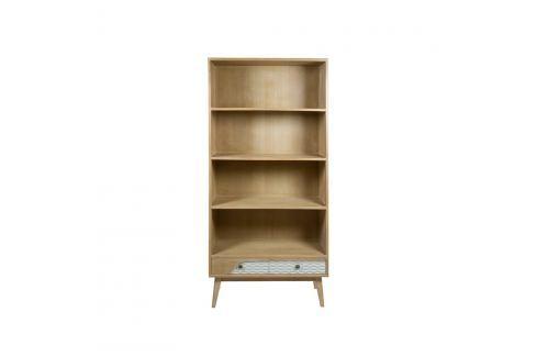 Knihovna z borovicového dřeva Santiago Pons BlueKni Knihovny