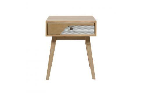 noční stolek z borovicového dřeva Santiago Pons Blue Noční stolky